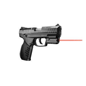 LaserMax Rail Mount Ruger SR22 SR9c SR40c Red Laser Tap Activation Polymer Black LMS-RMSR