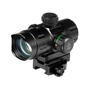 "Leapers UTG ITA Red/Green Dot Sight 4.2"" 4 MOA Dot QD Mount Flip Open Lens Caps SCP- DS3840W"