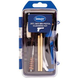 DAC Technologies Gunmaster 14 Piece Pistol Cleaning Kit with 6 Piece Driver Set .38/9mm GM9P
