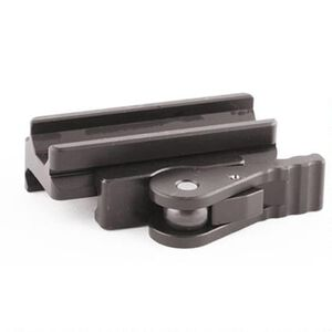American Defense Mfg. Medium Modular Base with QD Lever 6061 T6 Aluminum Black AD-B2
