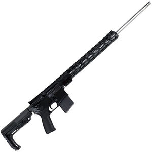 "Radical Firearms AR-15 Semi Auto Rifle 6.5 Grendel 10 Rounds 24"" Barrel 15"" Free Float RPR M-LOK Handguard MFT Minimalist Collapsible Stock Black"