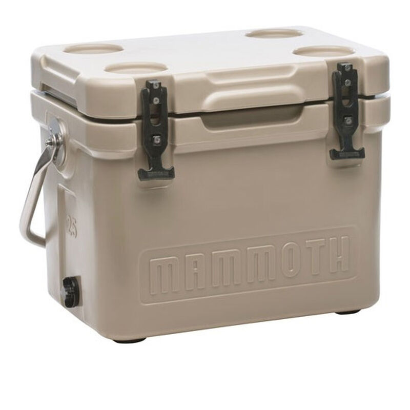 Mammoth Coolers Cruiser 25 Dry Ice Capable 22 qt Tan