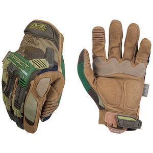 Mechanix Men's Tactical Glove Wear M-Pact Meduim Wooldand Camo