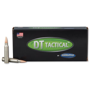DoubleTap .223 Remington Ammunition 20 Rounds Nosler BTHP 69 Grains 22369M20