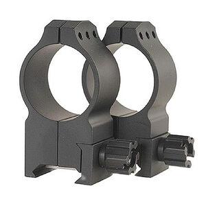 Warne Tactical Scope Rings 30mm Extra High Weaver/Picatinny Steel Black