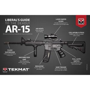 """TekMat Liberals AR-15 Guide Poster, 24""""x36"""""""