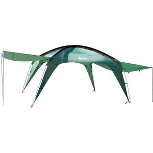 PahaQue Cottonwood XLT Shelter With Awnings 10'x10' Green CW300
