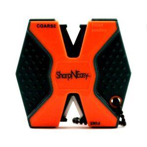 AccuSharp SharpNEasy Two Step Ceramic Knife Sharpener Blaze Orange 335C
