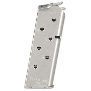 Chip McCormick 1911 Match Grade .45 ACP  Seven Round Officers Magazine Stainless
