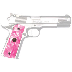 Pachmayr Cherry Pearl 1911 Grips