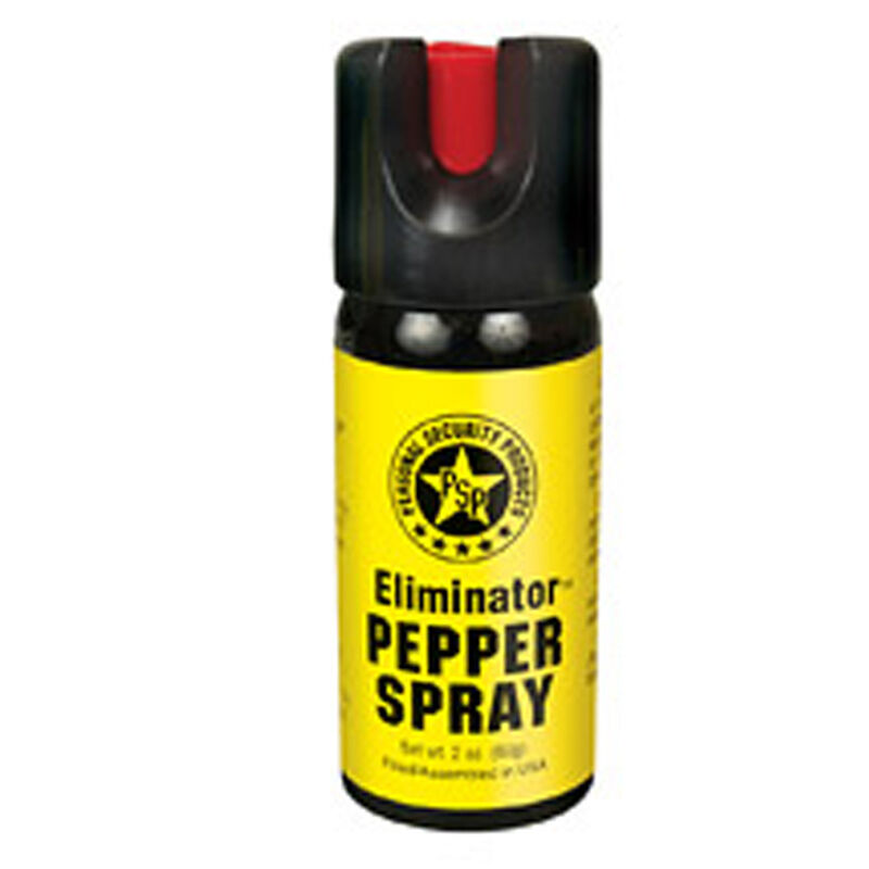 Personal Security Products 2 oz Pepper Spray Twist Lock Cap