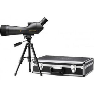 Leupold SX-1 Ventana 2 Spotting Scope Kit 20-60x80 Angled Eyepiece with Case and Tripod Grey/Black 170762