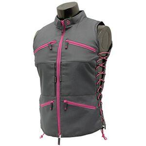 UTG TRUE HUNTRESS® Female Sporting Vest, Gray/Pink
