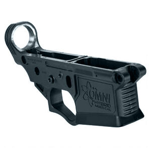 American Tactical Imports AR-15 Omni Hybrid Maxx Stripped Lower Receiver Multi Caliber Metal Reinforced Polymer Construction Sniper Gray