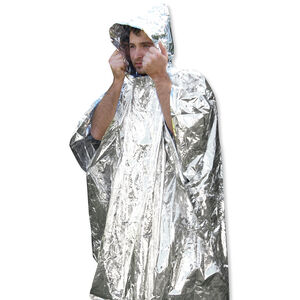 Ultimate Survival Technologies Reflective Survival Poncho 20-190-1000