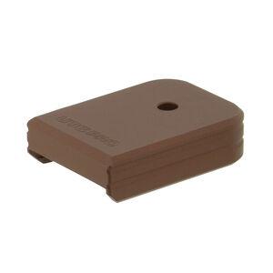 UTG PRO +0 Base Pad, Glock Large Frame, Matte Bronze Aluminum