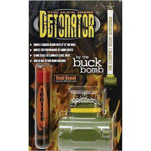 "Buck Bomb Detonator Reusable Scent Wick 12"" Long 1"" Wide Resealable Canister"