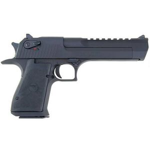 "Magnum Research Desert Eagle Mark XIX Semi Auto Pistol .44 Remington Magnum 6"" Barrel 8 Rounds Fixed Combat Sights Weaver Accessory Rail Black Oxide Finish"