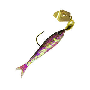 Z-man ChatterBait Flashback Mini Lures 1/8 oz Weight Gold/Black