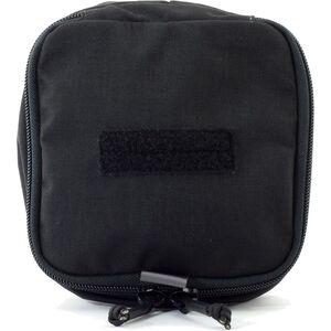 "Eleven 10 Zippered Med Pouch 6"" x 6"" Nylon Black"