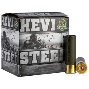 """Hevi-Shot Hevi-Steel Ammunition 12 Gauge 3-1/2"""" #3 Steel Shot 1-3/8 oz 1550 fps"""