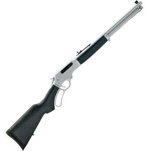 "Henry All Weather Lever Action Rifle 45-70 Govt 18.43"" Barrel 4 Rounds Coated Hardwood Stock Hard Chrome"