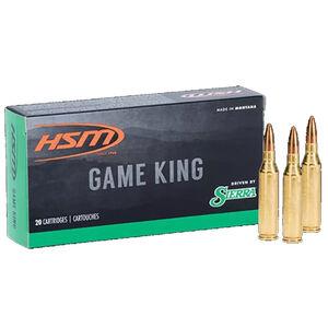 HSM Game King .30 Remington Ammunition 20 Rounds 150 Grain Sierra Pro Hunter Projectile
