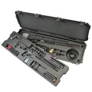 "SKB iSeries 3-Gun Competition Case 50"" x 14.50"" x 6"" Custom Foam Interior Latch Closure Carry Handle Waterproof Hard Shell Polymer Matte Black 3i-5014-3G"