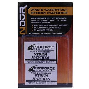 Proforce Equipment Matches Storm, 2 Pack