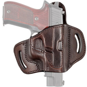 Tagua Gunleather TX1836 Fort Springfield Armory XD/XD(M) and Similar Belt Slide Holster Right Hand Leather Brown