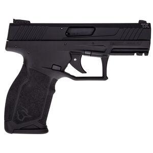 "Taurus TX22 .22 Long Rifle Semi Auto Pistol 4.1"" Threaded Barrel 10 Rounds Adjustable Rear Sight PTS Trigger No Manual Safety Polymer Frame Black Finish"