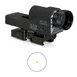 Trijicon Reflex Rifle Scope 4.5 MOA Amber Dot Reticle Reticle Flat Top Mount Matte Black Finish RX01NSN