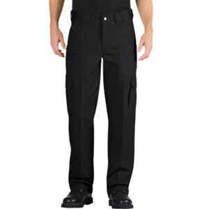 Dickies Tactical Relaxed Fit Straight Leg Lightweight Ripstop Pant Men's Waist 32 Inseam 32 Polyester/Cotton Black LP703