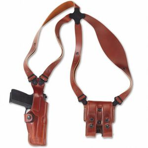Galco VHS GLOCK 19, 23, 32 Shoulder Holster System Ambidextrous Leather Tan VHS226