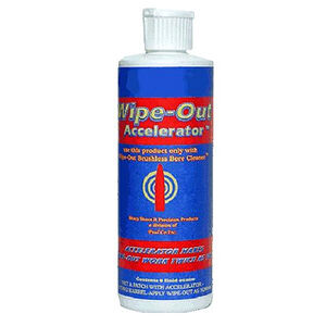 SharpShoot-R Wipe-Out Accelerator Use with Wipe-Out Brushless Bore Cleaner 8 oz.  WAC800