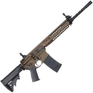 "LWRC IC-Enhanced AR-15 Semi Auto Rifle 5.56 NATO 16"" Barrel 30 Rounds Patriot Brown"