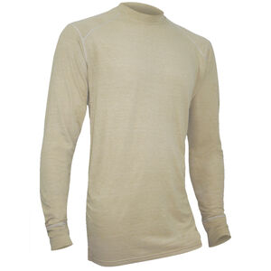 XGO FR Phase 1 Men's Long Sleeve Shirt Modacrylic/FR Rayon Blend Small Desert Sand