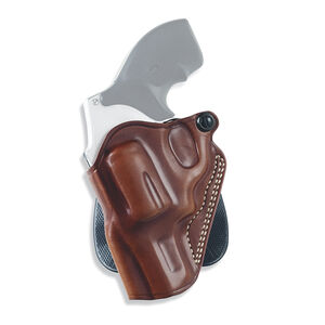 Galco Speed Paddle Holster Fits Ruger SP101 Left Hand Leather Tan