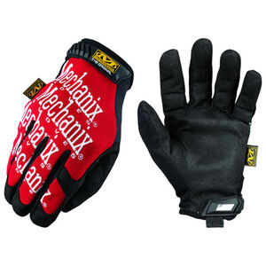 """Mechanix Wear """"The Original"""" Glove Synthetic Leather Palm Medium Red MG-02-009"""