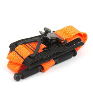 Tactical Medical Solutions SOFTT Tourniquet Black Webbing Rescue Orange