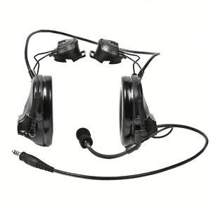 Peltor Single Comm SwatTac III ARC HS Covert Black