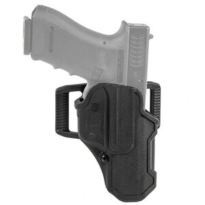 BLACKHAWK! T-Series Level 2 Compact Holster Fit GLOCK 43/43X and Similar Right Hand Polymer Black