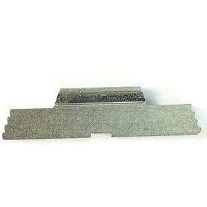 Cross Armory Extended Slide Lock for Full Sized Frame GLOCKs Gen 1-4 Silver