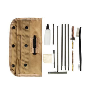 Sport Ridge  AR-15/M-16 5.56 NATO/.223 Rem GI Field Cleaning Kit Nylon MOLLE Compatible Pouch Tan 03961