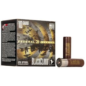 """Federal Black Cloud FS Steel 10 Gauge Ammunition 3-1/2"""" BB 1-5/8 Oz Steel Shot 1375 fps"""