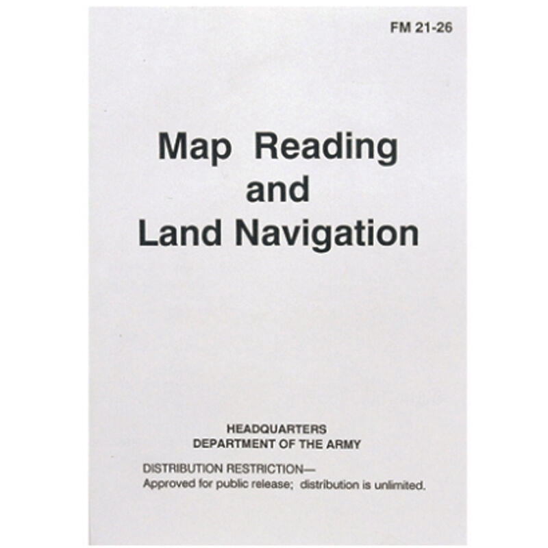 5ive Star Gear US Army FM21-26 Map Reading and Land Navigation Field Manual 7035000