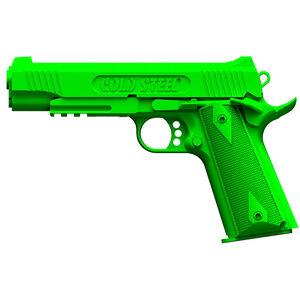 Cold Steel 1911 Rubber Training Pistol Polypropylene Green 92RGC11