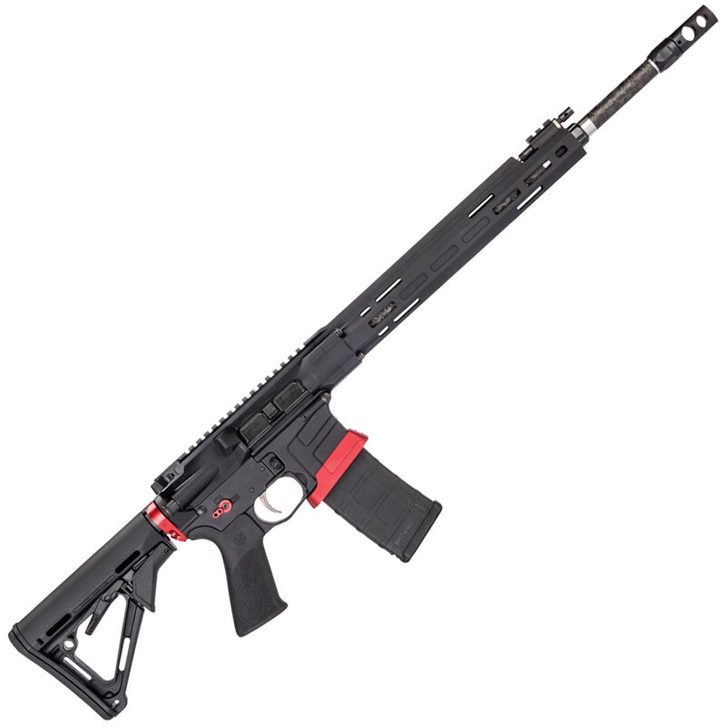 """Savage Arms MSR 15 Competition Semi Auto Rifle .224 Valkyrie 30 Rounds 18"""" Barrel Side Charger Free Float M-LOK Handguard Magpul CTR Stock Black"""