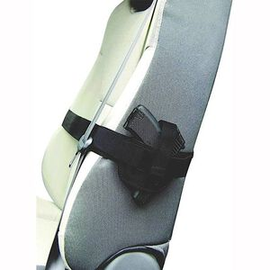 Personal Security Products Small Auto Car Seat Holster Nylon Black 036SH