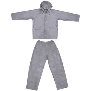 Ultimate Survival Technologies Adult All-Weather Rain Suit Large, Gray 20-RNW0006-02